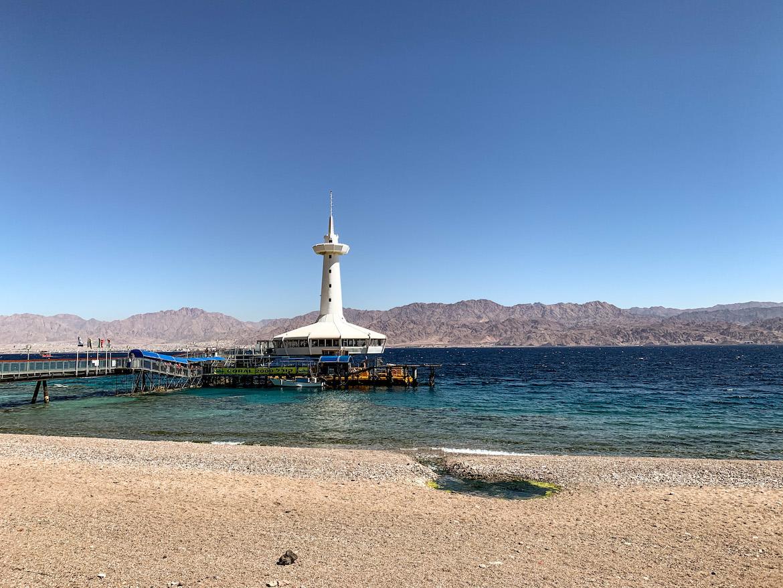 Turm des Underwater Observatory