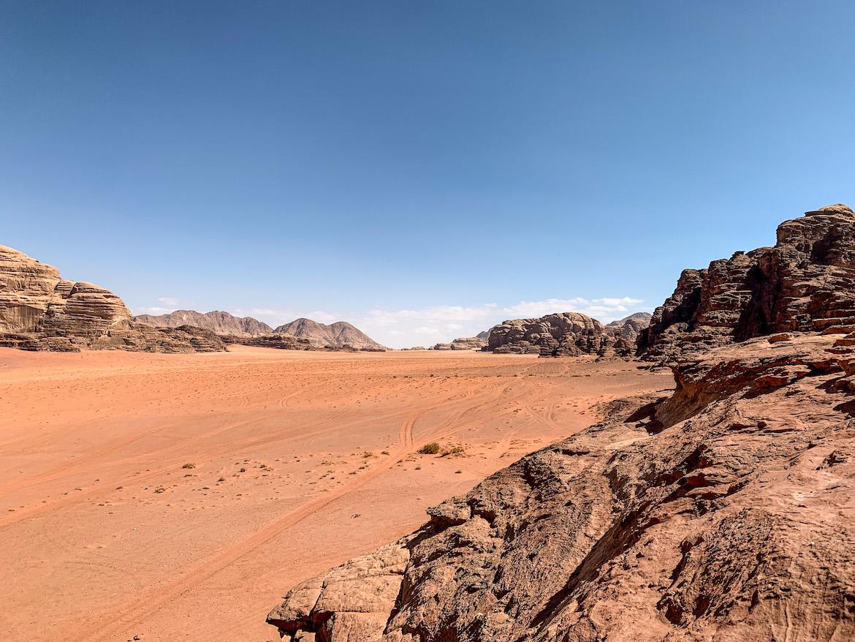 Felsen in Wadi Rum